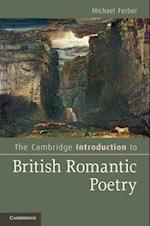 Cambridge Introduction to British Romantic Poetry (Cambridge Introductions to Literature)