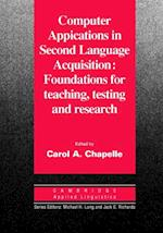 Computer Applications in Second Language Acquisition af Chapelle