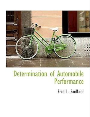 Determination of Automobile Performance