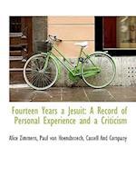 Fourteen Years a Jesuit af Paul Von Hoensbroech, Alice Zimmern