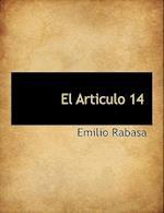 El Articulo 14 af Emilio Rabasa