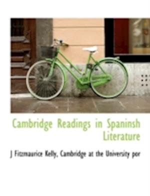 Cambridge Readings in Spaninsh Literature