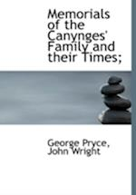 Memorials of the Canynges' Family and their Times; af George Pryce