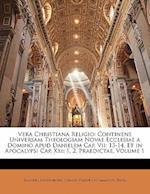 Vera Christiana Religio af Johann Friedrich Immanuel Tafel, Emanuel Swedenborg