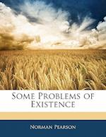 Some Problems of Existence af Norman Pearson