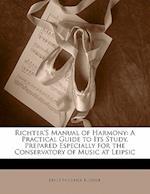 Richter's Manual of Harmony af Ernst Friedrich Richter