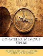 Donatello af Guido Carocci, Roderich Benedix, Alexander Wilhelmi