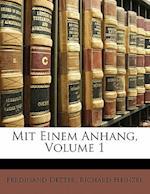 Mit Einem Anhang, Volume 1 af Ferdinand Detter, Richard Heinzel