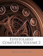Espistolario Completo, Volume 2 af Antonio Bresciani