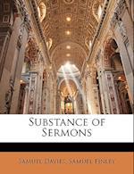 Substance of Sermons af Samuel Davies, Samuel Finley