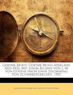 Goethe-Briefe af Philipp Stein, Johann Wolfgang von Goethe, Johann Wolfgang von Goethe