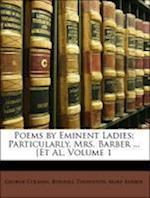 Poems by Eminent Ladies af Mary Barber, George Colman, Bonnell Thornton