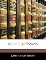 Modern Essays af John Milton Berdan