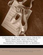 Catalogue Bibliographique af Jean-Baptiste Weckerlin