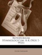 Repertorium Hymnologicum af Ulysse Chevalier