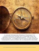 Le Grand Vocabulaire Francois af Ferdinand Camille Duchem De La Chesnaye, Sbastien-Roch-Nicolas Chamfort, Guyot