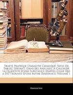 Traite Pratique D'Analyse Chimique af Heinrich Rose