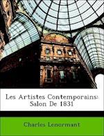 Les Artistes Contemporains af Charles Lenormant