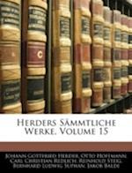 Herders Sammtliche Werke, Volume 15 af Otto Hoffmann, Johann Gottfried Herder, Carl Christian Redlich
