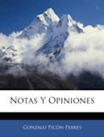 Notas y Opiniones af Gonzalo Picn-Febres, Gonzalo Picon-Febres