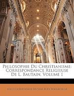 Philosophie Du Christianisme
