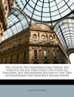 Die Gesetze Des Franzosischen Verses af Claas Hugo Humbert