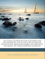 Les Essais de Montaigne af Ernest Courbet, Michel Montaigne, Charles Royer