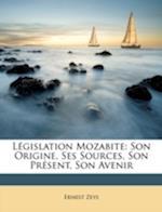 Legislation Mozabite af Ernest Zeys