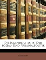 Die Jugendlichen in Der Sozial- Und Kriminalpolitik af Arthur Dix