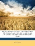 Religionsphilosophie Im Umriss af Rudolf Seydel