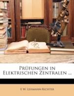 Prufungen in Elektrischen Zentralen ... af E. W. Lehmann-Richter