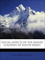 Social Aspects of the Jewish Colonies of South Jersey af Philip Reuben Goldstein