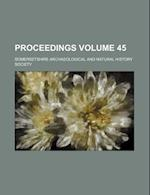 Proceedings Volume 45 af Somersetshire Archaeological Society