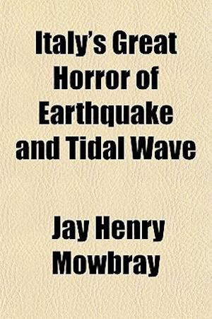Bog, paperback Italy's Great Horror of Earthquake and Tidal Wave af Jay Henry Mowbray