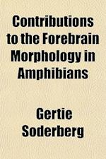 Contributions to the Forebrain Morphology in Amphibians af Gertie Soderberg, Gertie Sderberg