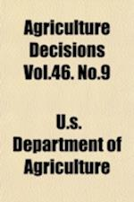 Agriculture Decisions Vol.46. No.9
