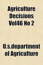 Agriculture Decisions Vol46 No 2