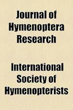 Journal of Hymenoptera Research af International Society of Hymenopterists