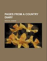Pages from a Country Diary af Percival Somers