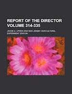 Report of the Director Volume 314-335 af Jacob G. Lipman