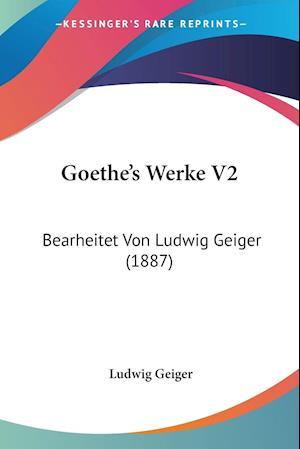 Goethe's Werke V2