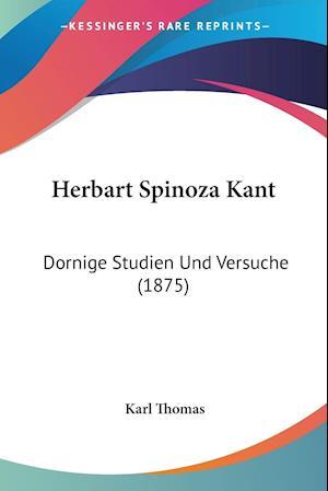 Herbart Spinoza Kant