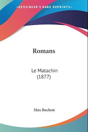 Bog, paperback Romans af Max Buchon
