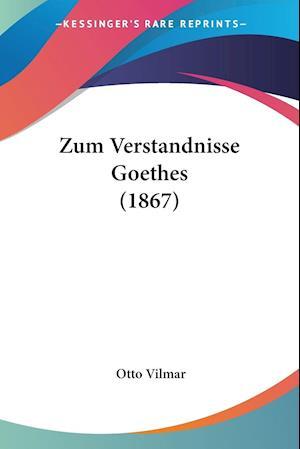 Zum Verstandnisse Goethes (1867)
