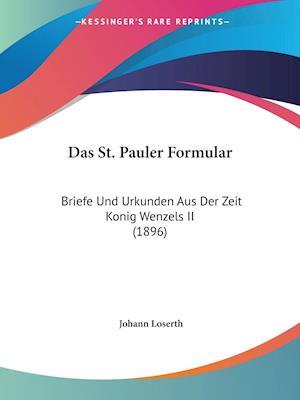Das St. Pauler Formular