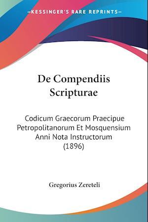 De Compendiis Scripturae