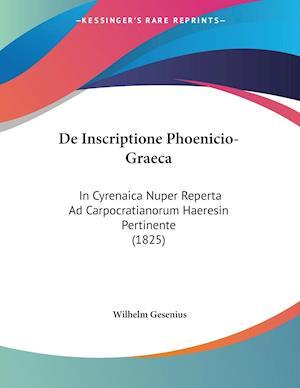De Inscriptione Phoenicio-Graeca