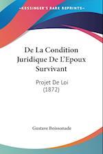 de La Condition Juridique de L'Epoux Survivant af Gustave Boissonade