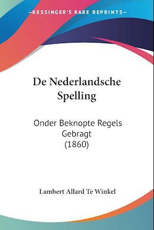 De Nederlandsche Spelling