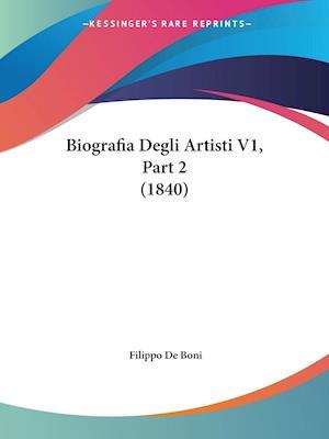 Biografia Degli Artisti V1, Part 2 (1840)